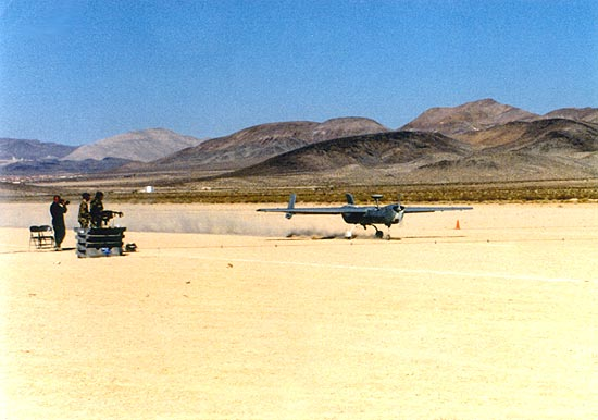 HUNTER RQ-5A TACTICAL UNMANNED AERIAL VEHICLE - USA