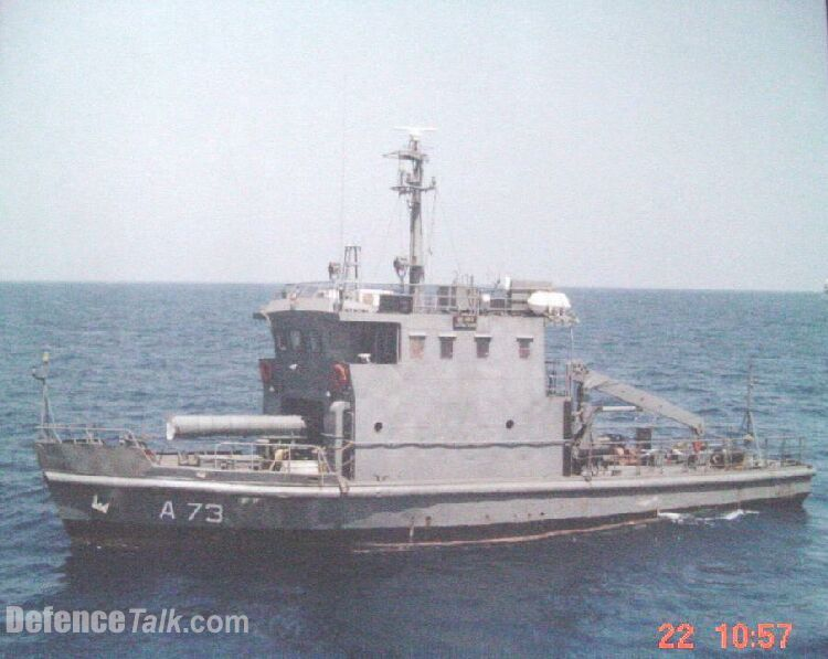 INS Astravahini Torpedo Recovery Vessels