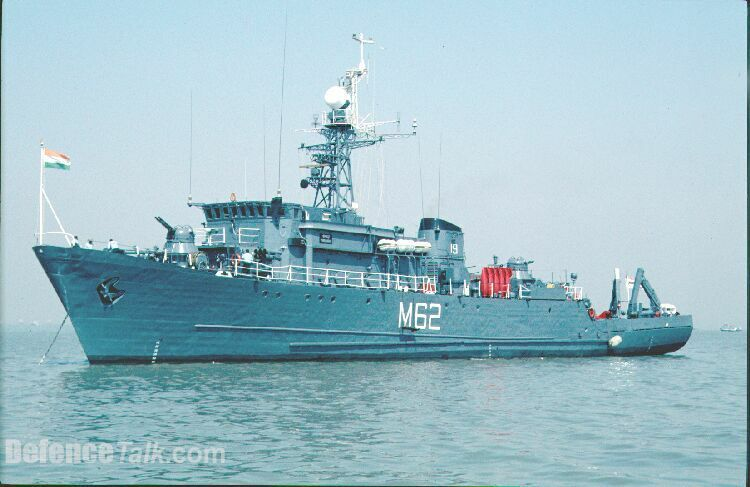 INS Porbandar (Pondicherry {Natya 1} Class Minesweeper)