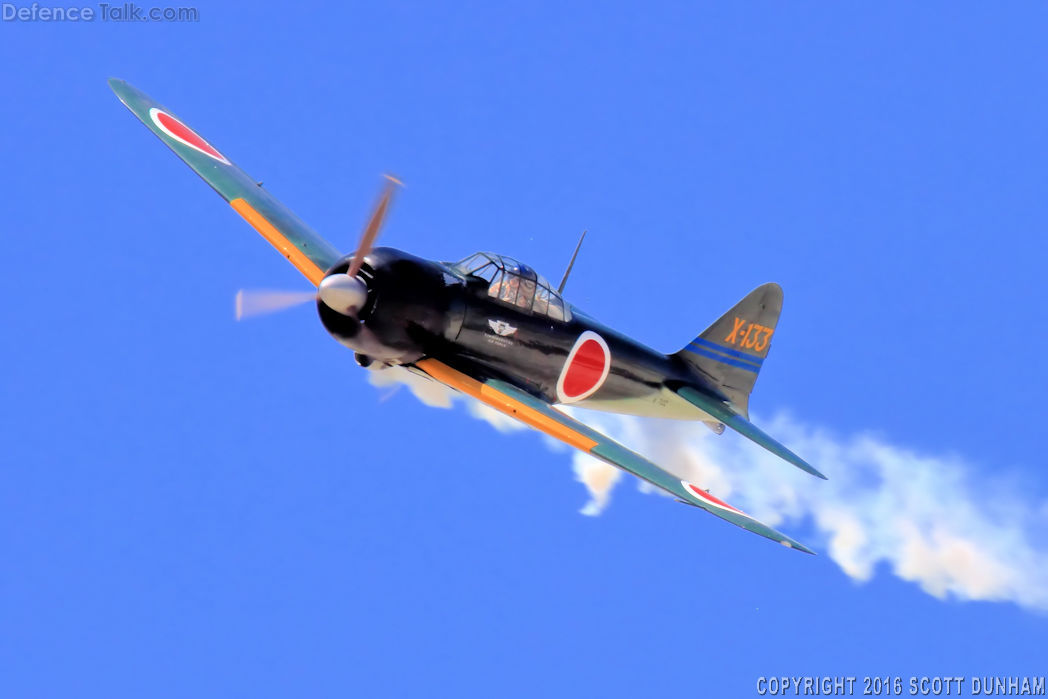 Japanese Navy A6M Zero Fighter