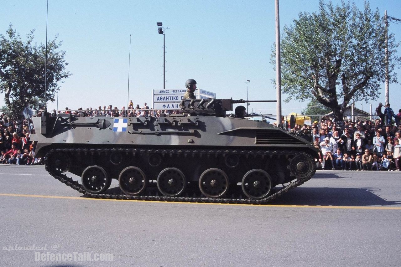 Leonidas Light Armoured Vechicle Hellenic Army