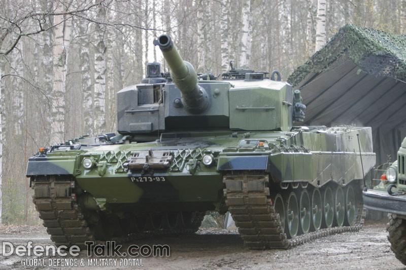 Leopard2A4 Tank - Finnish Army | DefenceTalk Forum