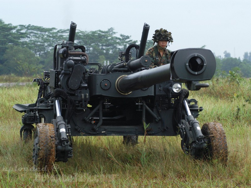 Light Weight Howitzer Pegasus, Singapore
