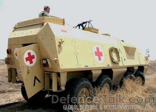 Lynx-Med - medevac vehicle, Polish Army
