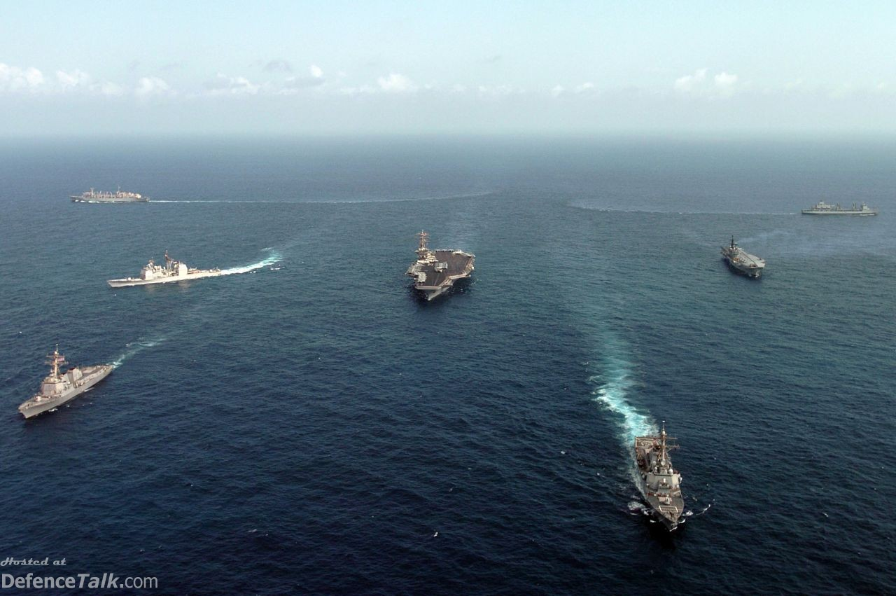 Malabar 2005 Naval Exercise - USS Nimitz Carrier Strike Group