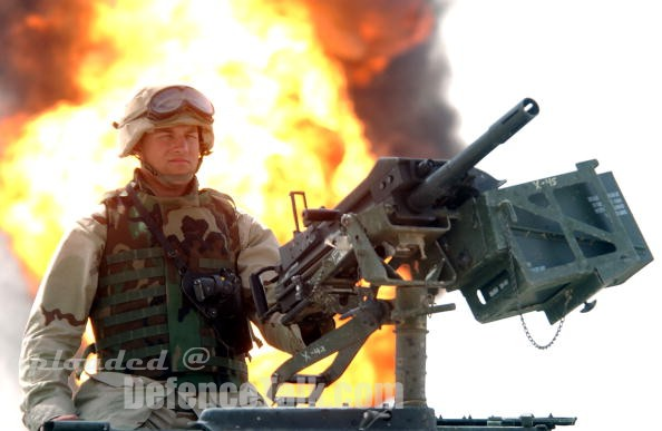 Marine with grenade launcher