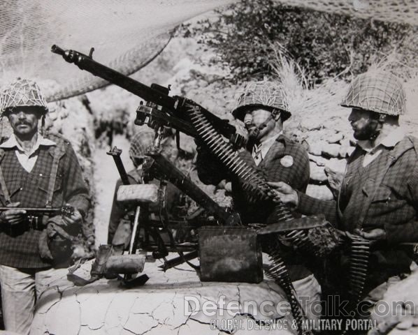 MG1A3 on AA Role War of 1965 - Pakistan vs. India