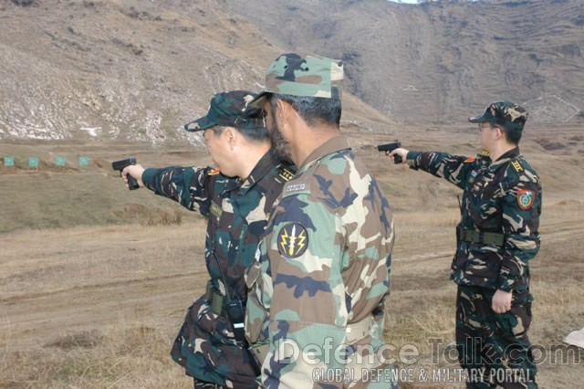 Pakistan China Armed Forces - Friendship 2006