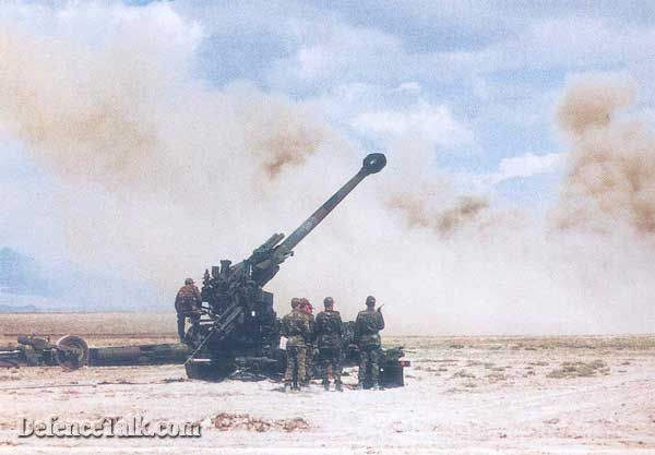 PANTER 155 mm 52 cal. Modern Towed Howitzer