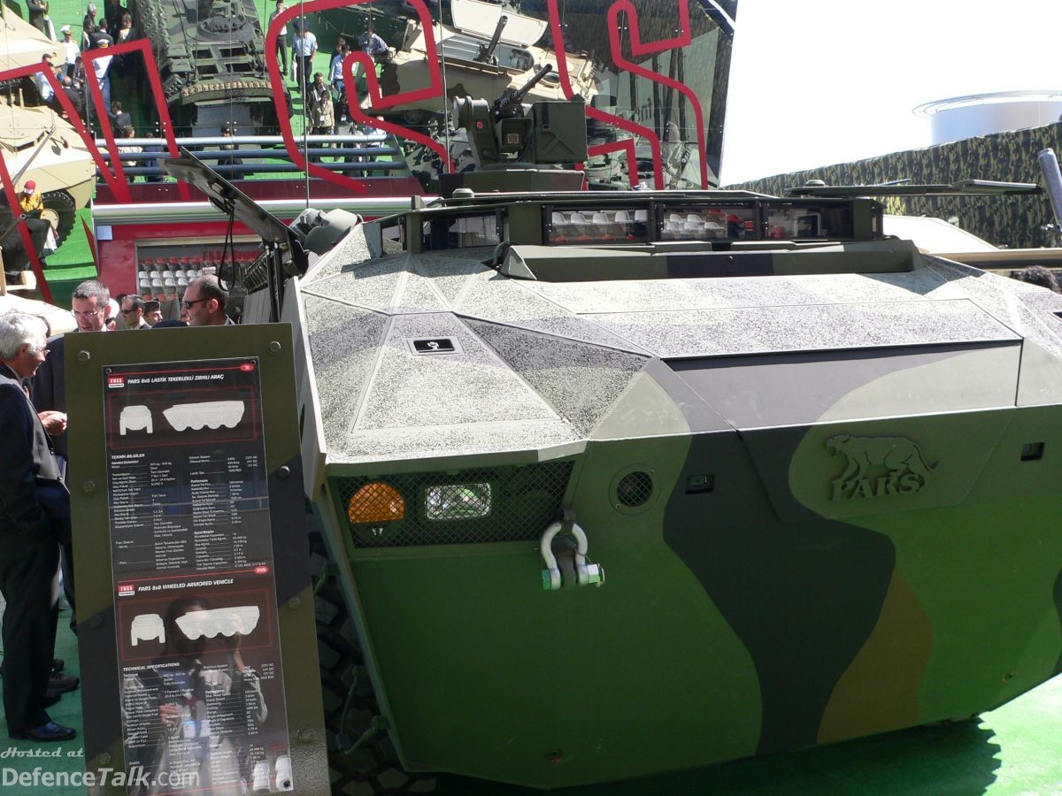 PARS 8x8 / IDEF 2005 - Land Weapon Systems