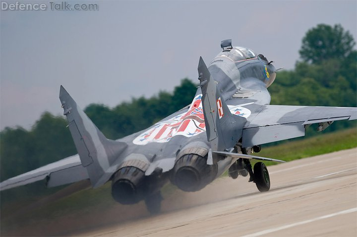 Polish Air Force Mig 29