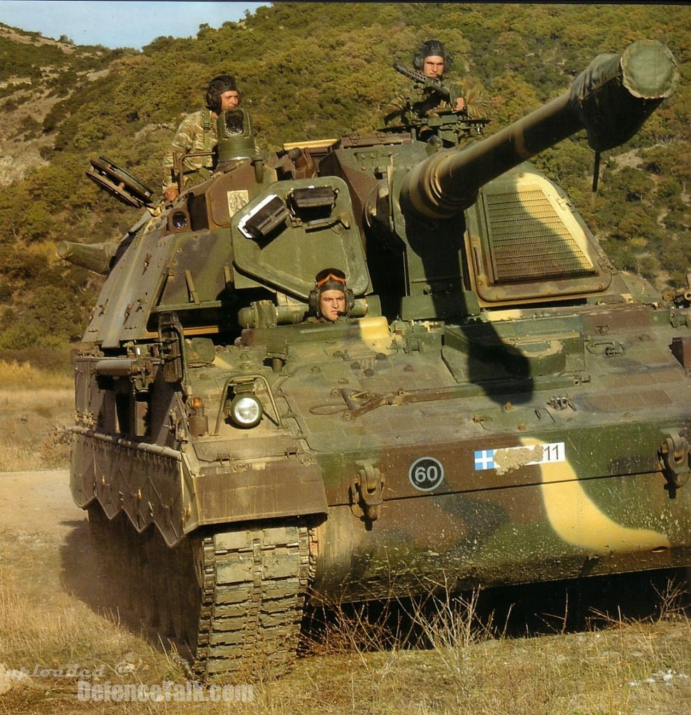 PzH 2000 Hellenic Army