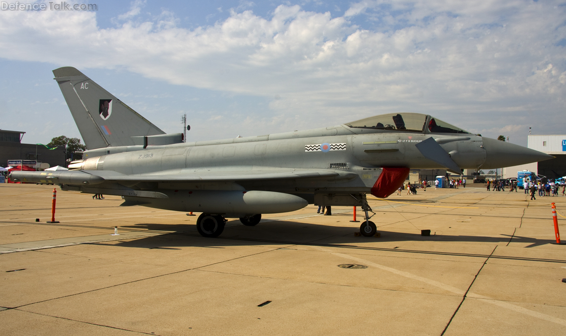RAF Eurofighter - Miramar 2010 Air show