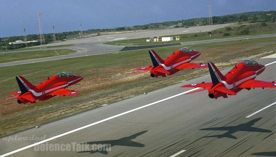 RAF Red Arrows 2000