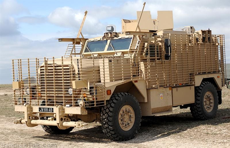 Ridgback MRAP - British Army Firepower
