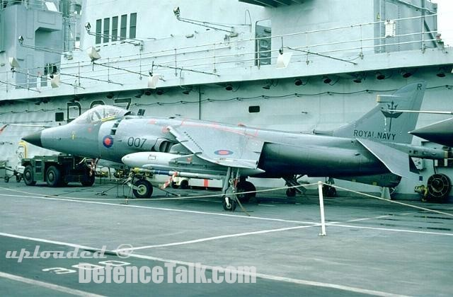 Royal Navy Sea Harrier FRS1