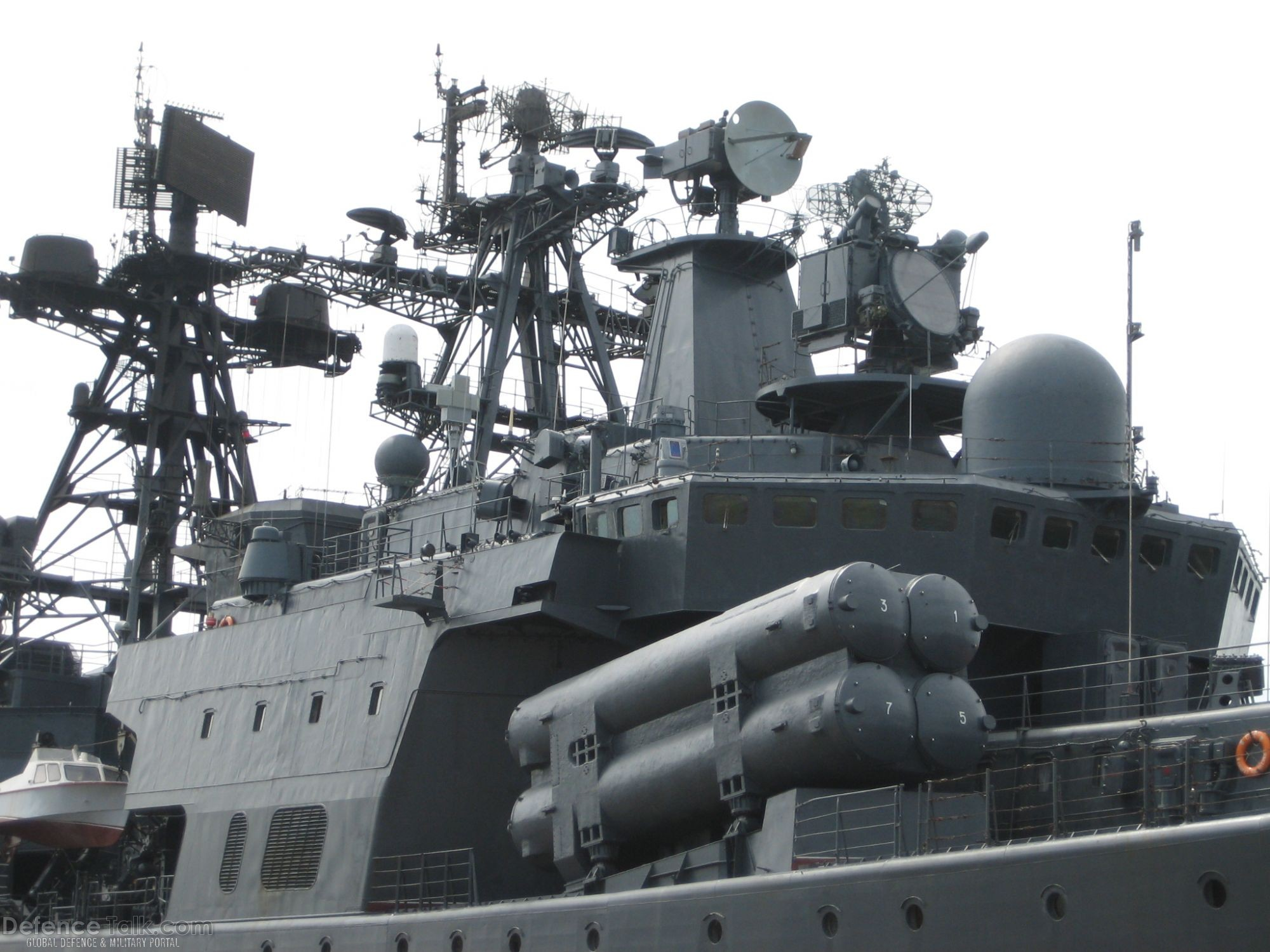 Russian Destroyer Admiral Chabanenko