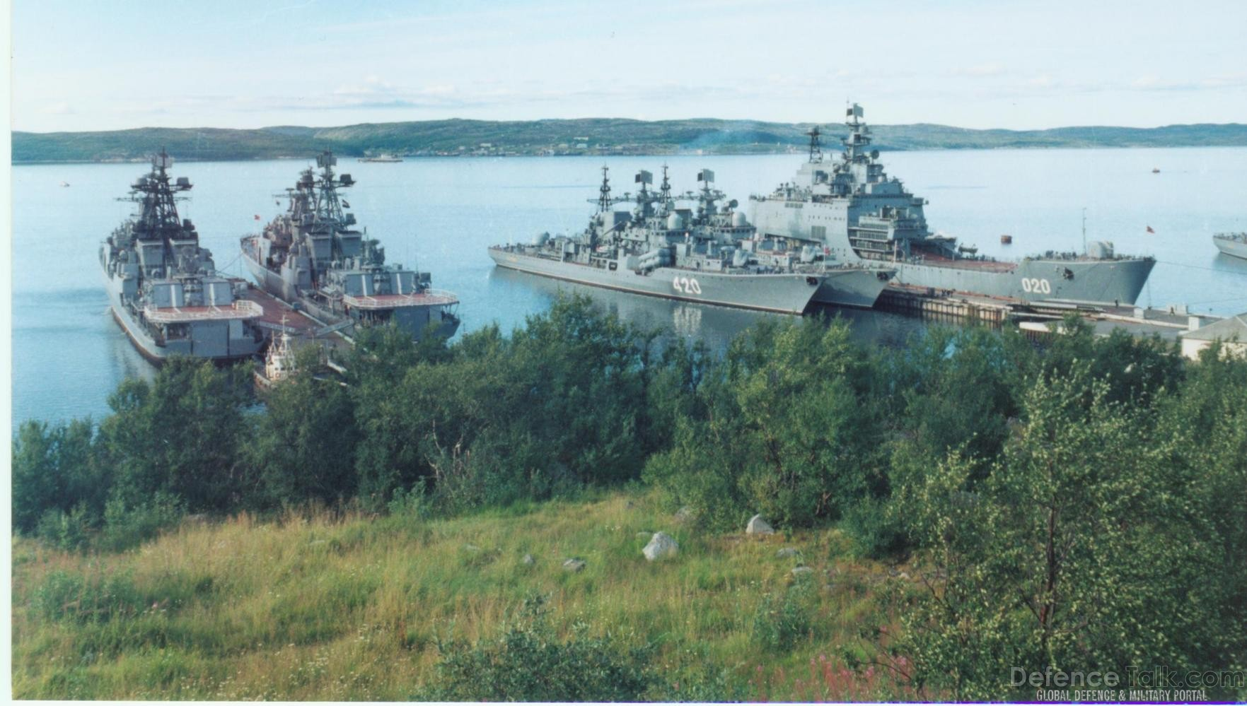 Russian Navy Destroyers