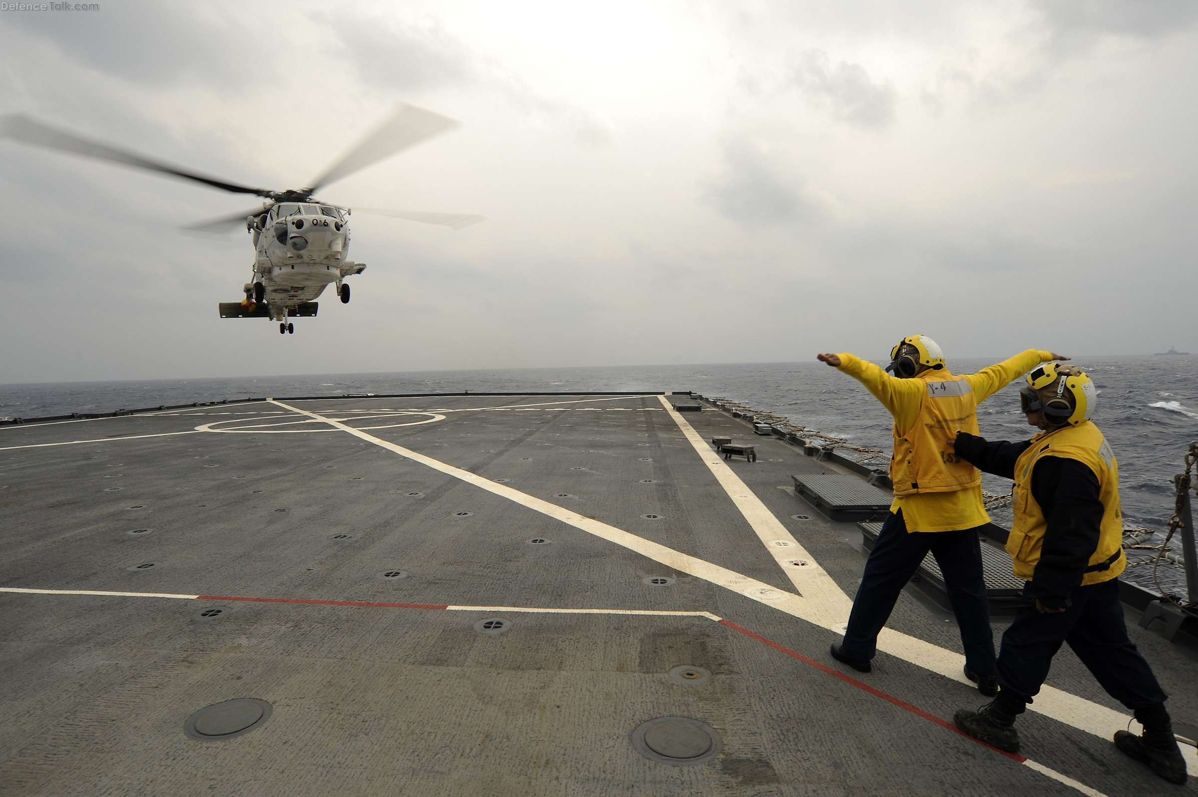 SH-60K Sea Hawk helicopter assigned to Helicopter Patrol Squadron