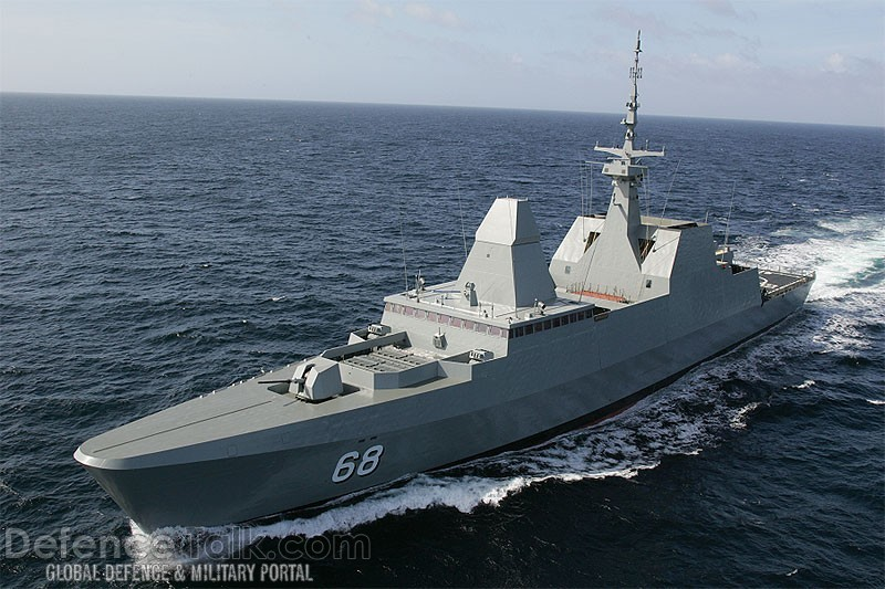 Singapore`s Formidable class stealth Frigate