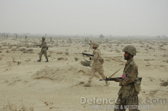 Soldiers, Pak-Saudi Armed Forces Exercise