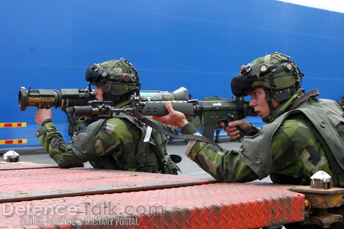 Swedish Army Exercise - Combined Challenge 2007