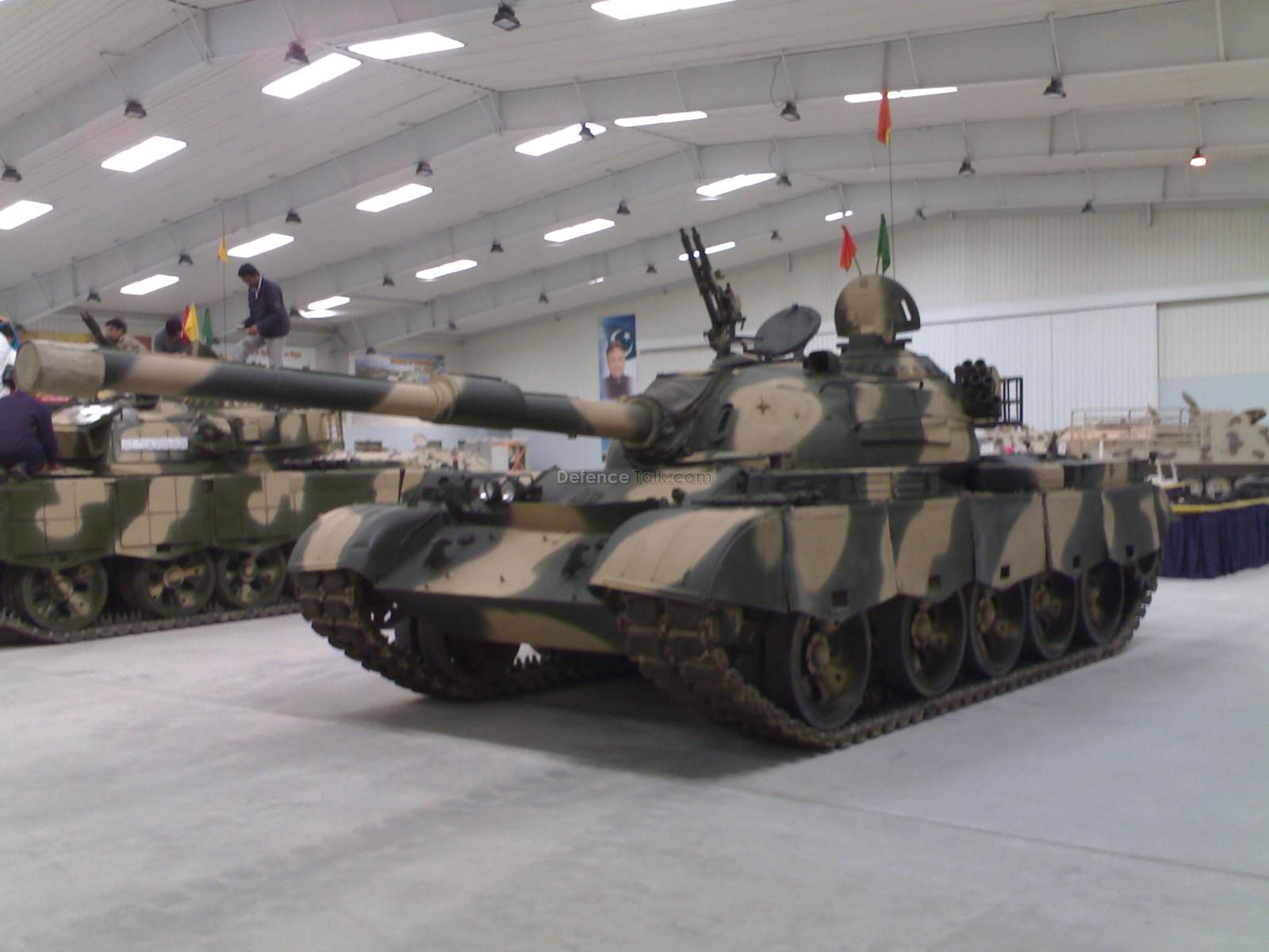 T-59 With Al-Zarar Tank - Pakistan Army