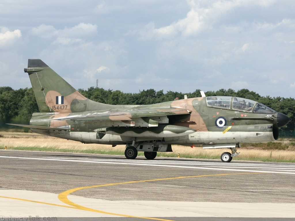 TA-7C Corsair II Greece Air Force