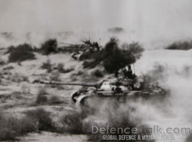 Tank battle War of 1965 - Pakistan vs. India