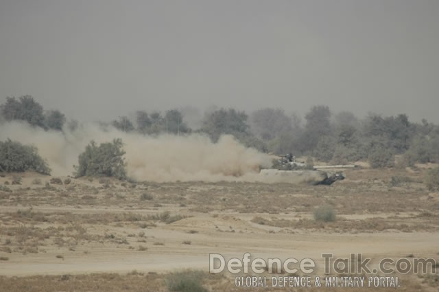 Tank Rolls, Pak-Saudi Armed Forces Exercise