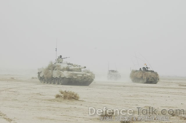 Tanks and Armored Vehicles, Pak-Saudi Exercise