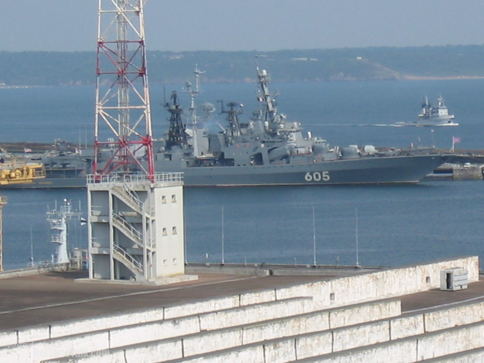 Udaloy-class Destroyer - Russian Navy