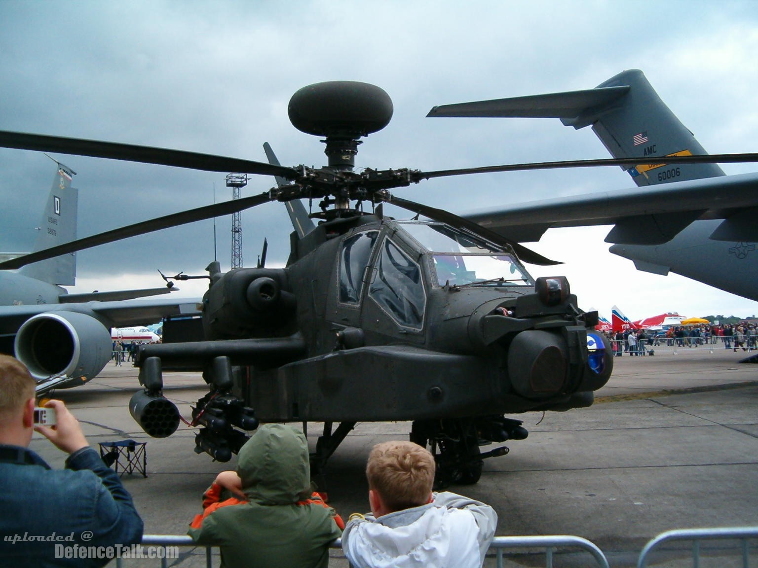 US Air Force (USAF) Apache at the ILA2006 Air Show