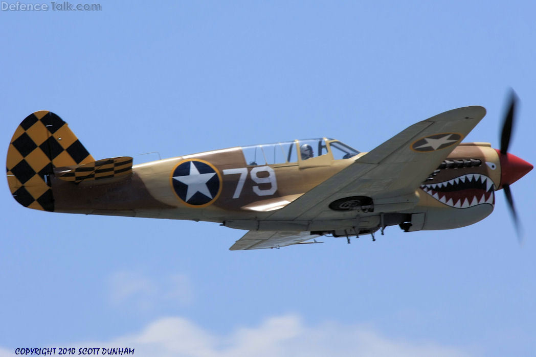 US Army Air Corps P-40 Warhawk Fighter