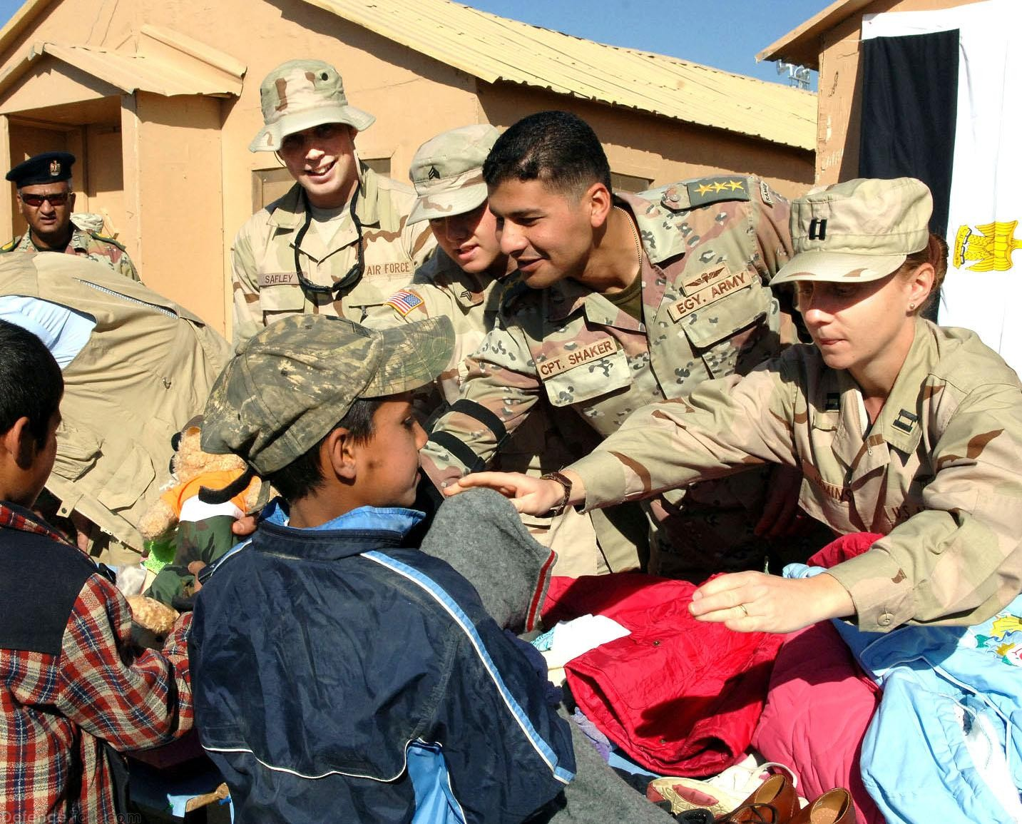 US-Egypt Joint Humanitarian Aid Mission in Afghanistan