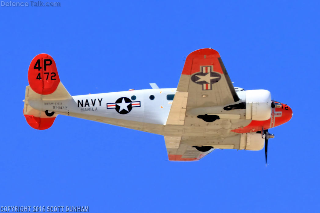 US Navy C-45H Expeditor Trainer/Transport