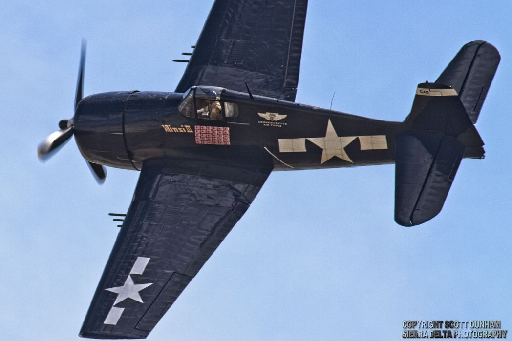US Navy F6F Hellcat Fighter Aircraft