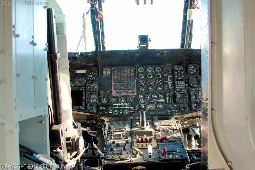 US Navy MH-60S Seahawk CSAR Helicopter Cockpit