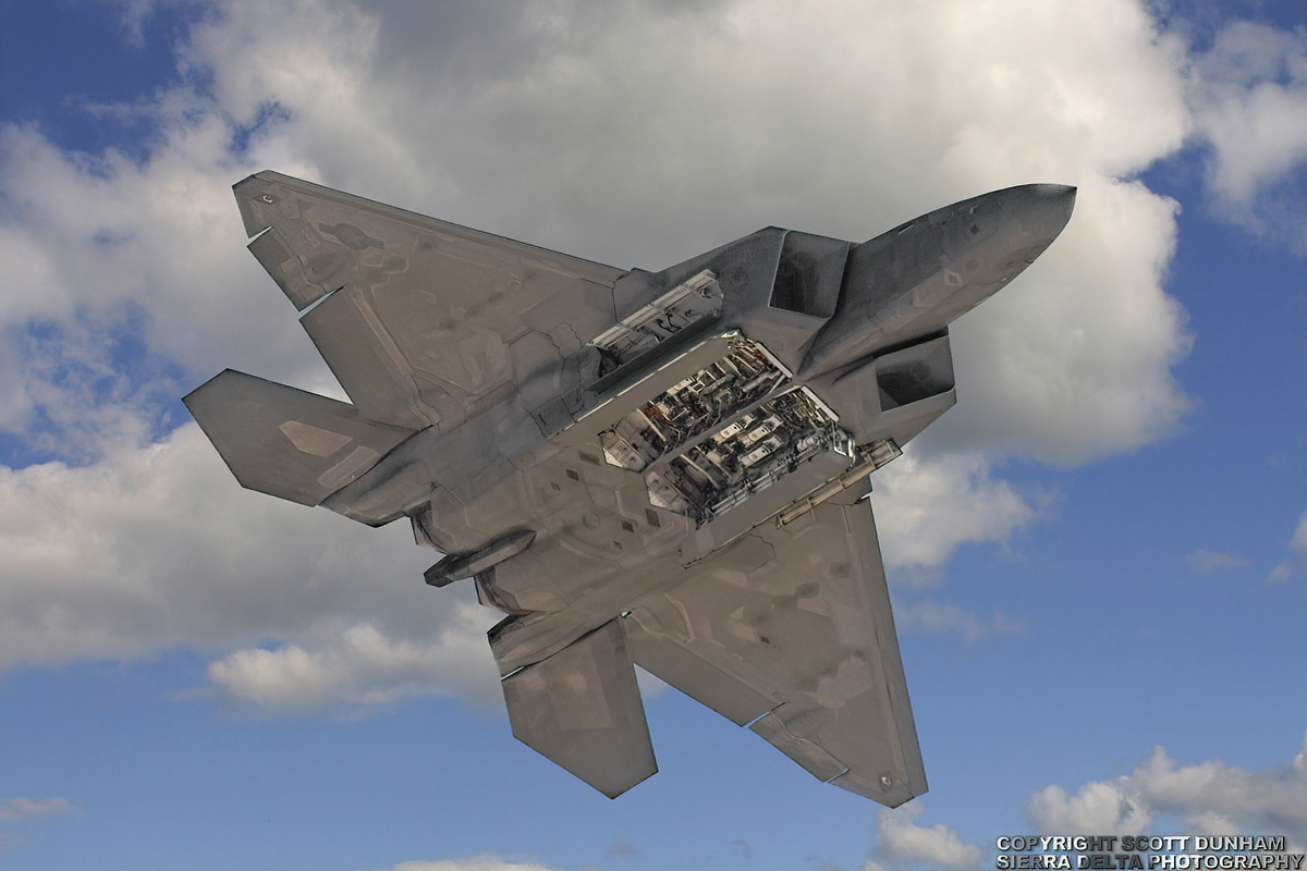 USAF F-22A Raptor Air Dominance Fighter