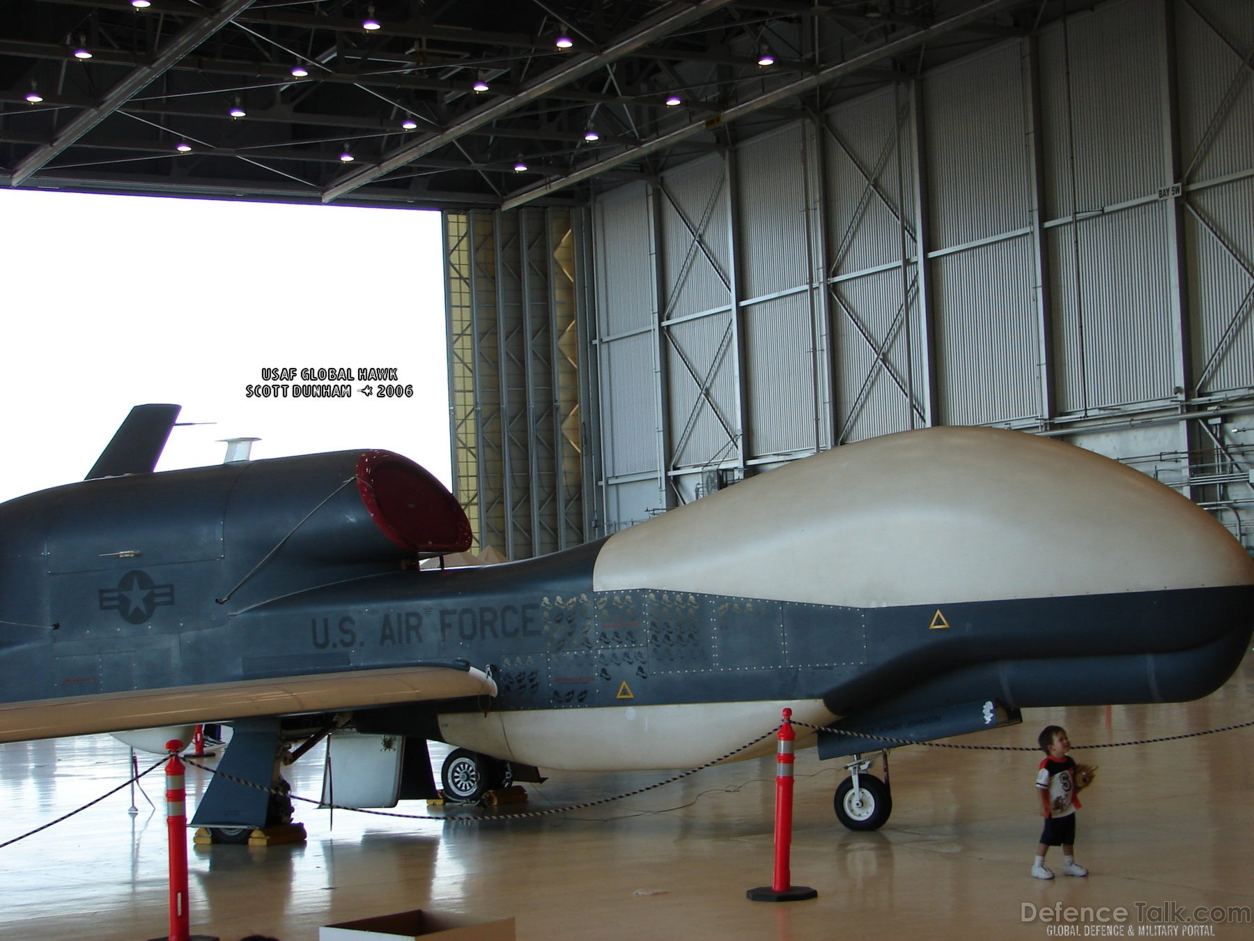 USAF Global Hawk Reconnaissance Aircraft