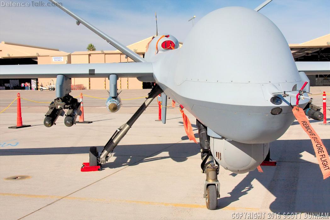 USAF MQ-9 Reaper UAV | DefenceTalk Forum