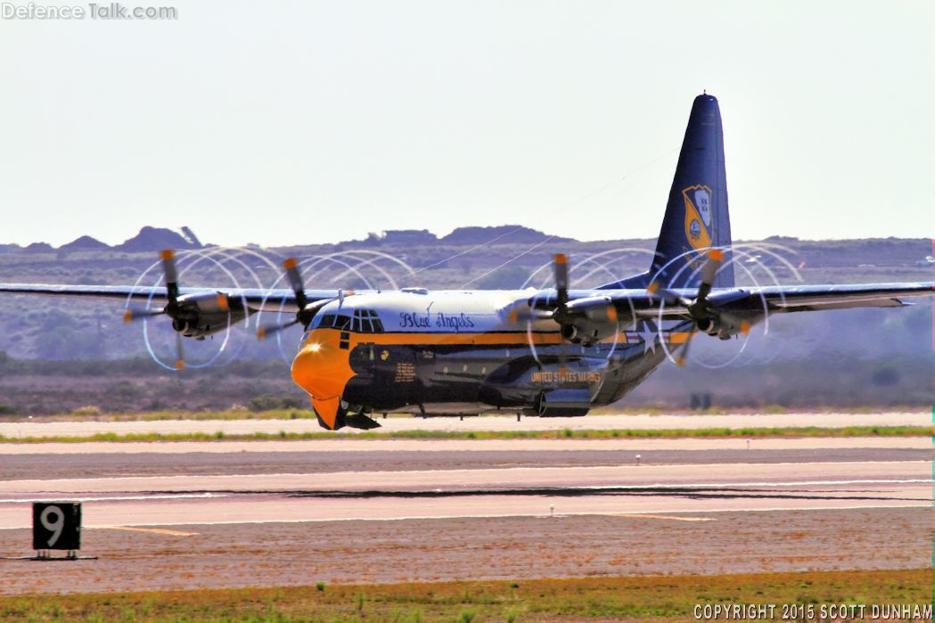 USMC C-130T Hercules Transport - Fat Albert