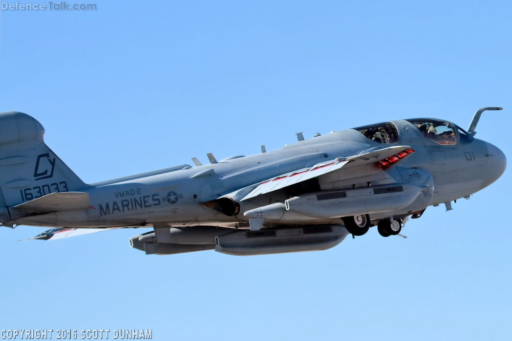 USMC EA-6B Prowler Electronic Attack Aircraft