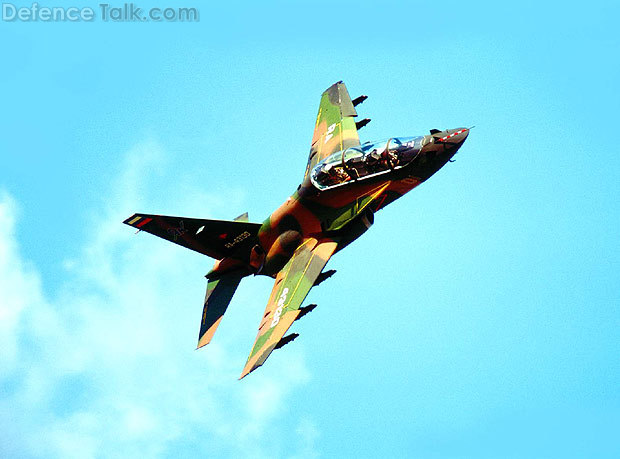 Yak-130 High manoeuvrability flight