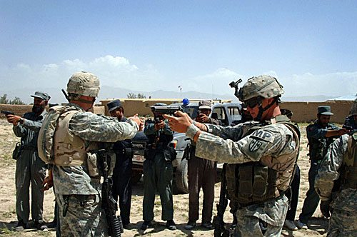 Report: Afghan Security Forces Face In...