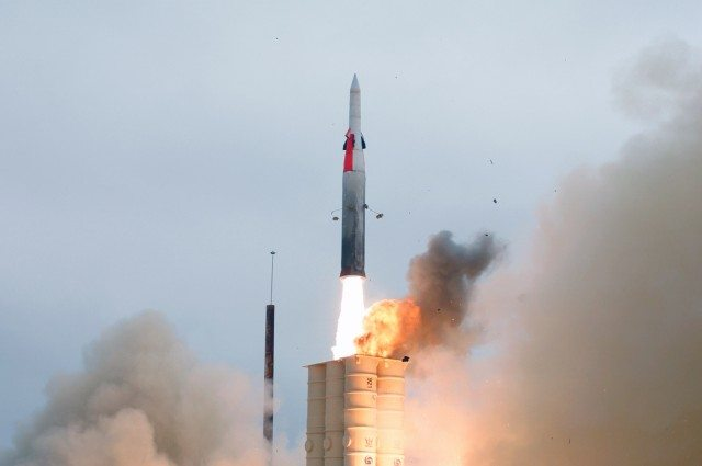 Israel tests new Arrow missile interce...