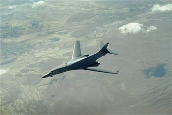 Airmen Gear Up for Largest B-1 Modification