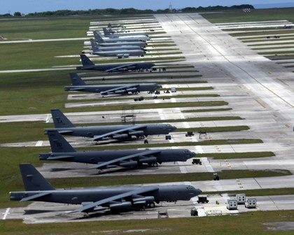 US flies B-52 bombers over South Korea