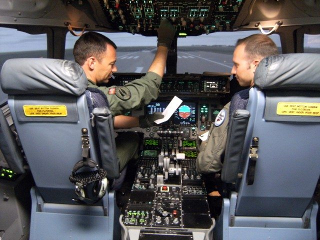 C-17 Heavy Airlifter Simulator Delivered
