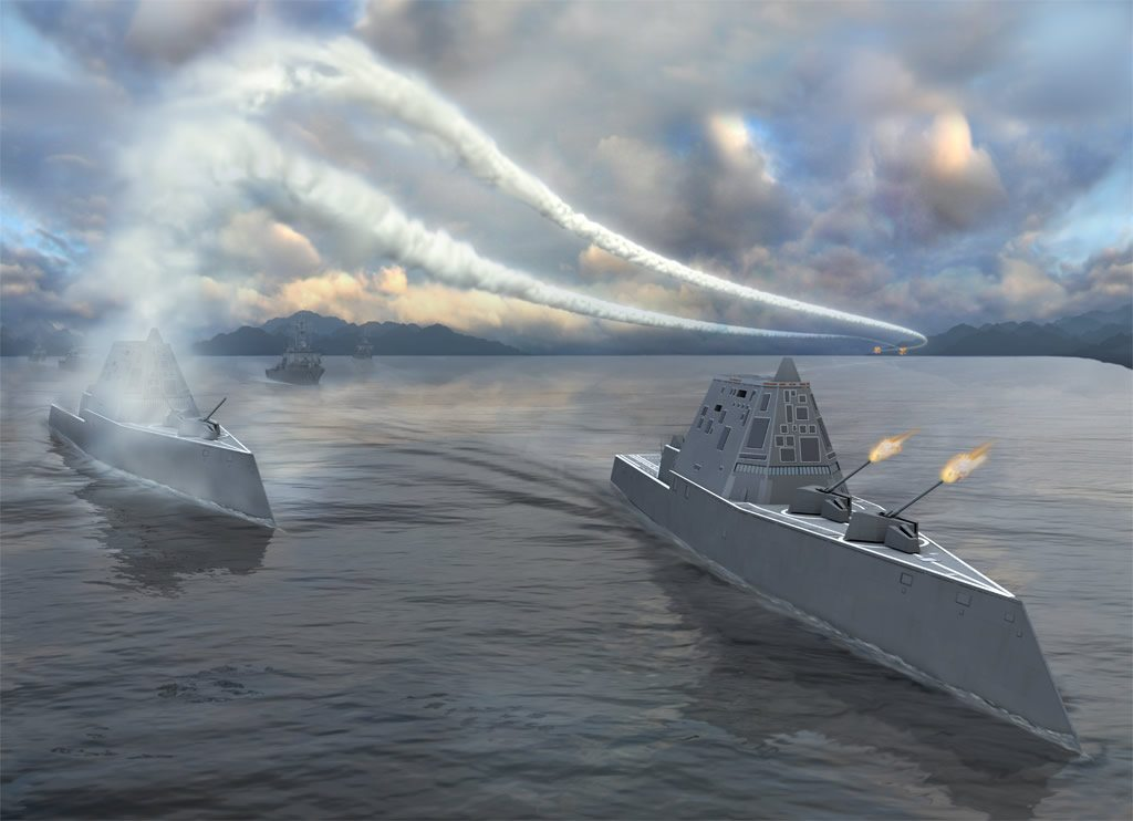 Next-Generation Navy Destroyer Set for Construction in Maine